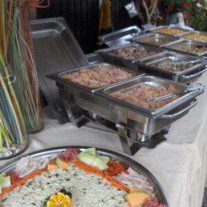 Catering Buffet Wat de pot schaft