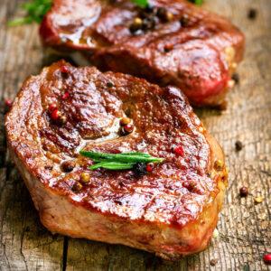 biefstuk voor op de barbcue