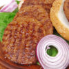 rundvlees hamburger ui barbecue